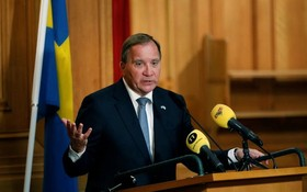 瑞典首相斯特凡·勒文 22日突然宣佈辭職。(圖源:路透社)