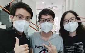 韶明、明英、嘉儀3兄弟都參加抗疫工作。
