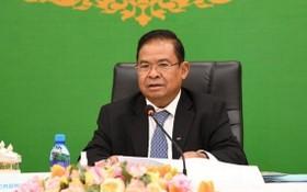 柬埔寨國家銀行行長謝占都。 (圖源:柬中時報)