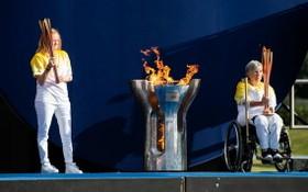 殘奧會發源地英國曼德維爾采火儀式。(圖源:互聯網)