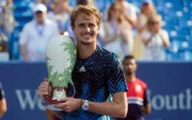 茲維列夫拿下第5個大師賽冠軍。(圖源:互聯網)