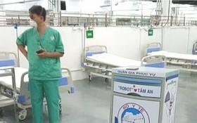 機器人助力治療新冠患者