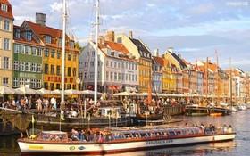 """丹麥擁有""""童話王國""""的街區。"""