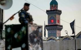 伊拉克巴格達加強安全警戒。(圖源:AFP)