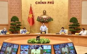 政府總理與 20 省市舉行防疫會議