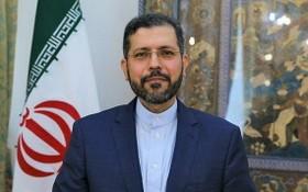 伊朗外交部發言人哈提卜扎德。(圖源:互聯網