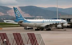 圖為希臘奧林匹克航空公司的一架客機。(圖源:互聯網)