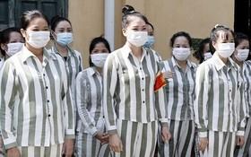 圖為玉理監獄的女囚犯們。(圖源:越通社)