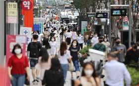 圖為首爾街頭上一景。(圖源:韓聯社)
