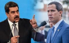 委內瑞拉現任總統馬杜羅(左)與反對派領袖瓜伊多。(圖源:Getty Images)