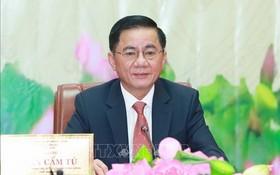中央檢查委員會主任陳錦秀。(圖源:越通社)