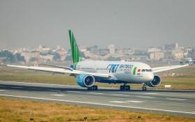 圖為越竹航空的一架波音787夢幻客機。(圖源:越通社)