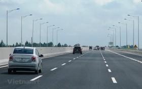 車輛在一條已投入運營的高速公路上行駛。(圖源:越通社)