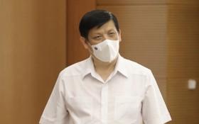 衛生部長阮清隆。(圖源:衛生部)