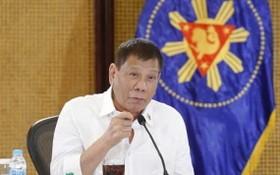 菲律賓執政黨民主人民力量黨 8日正式提名黨主席、現任總統杜特爾特為下屆副總統候選人,杜特爾特接受黨內提名。(圖源:互聯網)