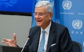 聯合國大會主席博茲克爾。(圖源:聯合國)