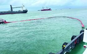 頭頓省緊急處理海上溢油事故