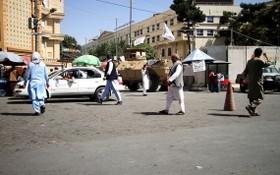 圖為阿富汗首都喀布爾街頭9月8日景象。(圖源:新華社)
