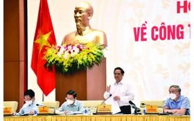政府總理范明政主持會議。