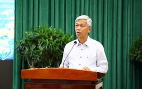 市人委會副主席武文歡。(圖源:草黎)