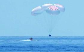 「靈感4號」任務成功4平民返回地球