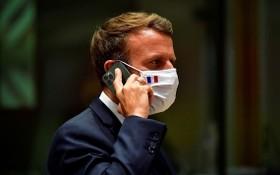 法國總統馬克龍。(圖源:AP)