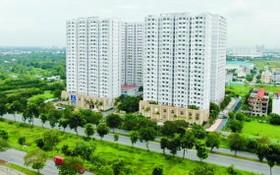 座落在平政縣阮文靈大道的HQC Plaza社會住房公寓。