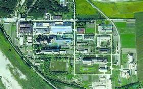 美國衛星圖像公司拍攝的寧邊鈾濃縮廠照片。(圖源:AP)