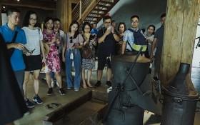遊客參加德樂省的咖啡之旅。(圖源:范淮元英)
