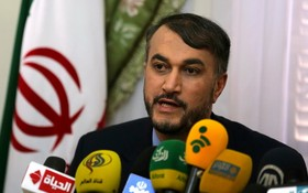 伊朗外長阿卜杜拉希揚。(圖源:路透社)