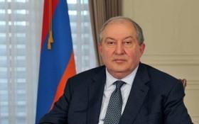 亞美尼亞總統阿曼‧薩奇席恩。(圖源:Getty Images)