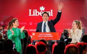 加拿大總理特魯多贏得第三任期。(圖源:路透社)