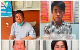 4 名通緝犯在社交隔離期間落網。(圖源:警方提供)