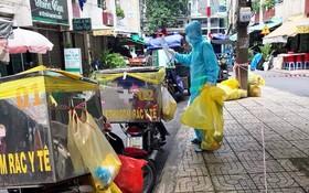 環衛工要常穿著防護服,確保在實行危害垃圾收集任務時的安全。