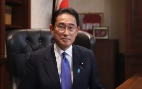 9月29日,日本執政自民黨選出64歲的岸田文雄出任第27任總裁。(圖源:新華社)