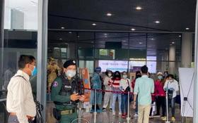 柬埔寨將縮短入境投資商隔離期。圖為金邊機場。(圖源:柬中時報)