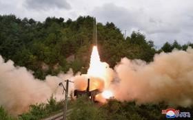 朝鮮「鐵路機動飛彈團」9月15日朝日本海發射兩枚彈道飛彈。(圖源:朝中社)