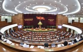 黨第十三屆四中全會在河內隆重開幕。(圖源:VOV)