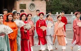 越南傳統服飾。