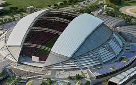 新加坡國家體育場可容納5.5萬人。(圖源:互聯網)