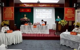 市國會代表團2號代表組與選民舉行接觸會現場。(圖源:市黨部新聞網)