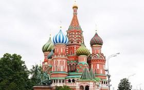 被列入聯合國教科文組織世界遺產名錄的聖巴西爾大教堂。