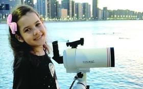8歲女童或成最年輕天文學家