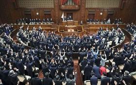 日本首相岸田文雄14日決定解散眾議院。(圖源:AP)