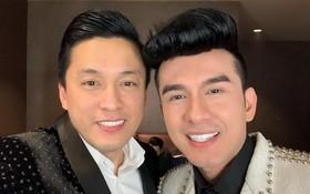 """男歌手藍長(左)和丹長(右)至今仍是觀眾心目中的""""一哥""""。"""