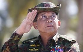 國防軍總司令敏昂萊。(圖源:互聯網)