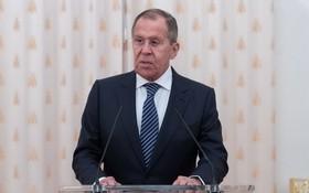 俄羅斯外長拉夫羅夫。(圖源:互聯網)
