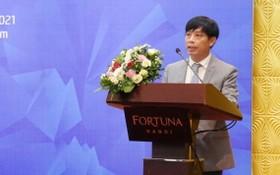 工商部電子商務與數字化局長鄧黃海在會議上致開幕詞。(圖源:工商部)