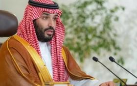 當地時間10月23日,沙特王儲穆罕默德說,沙特的目標是要在2060年以前實現淨零碳排放。(圖源:AFP)