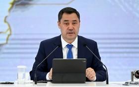 吉爾吉斯斯坦總統薩德爾‧扎帕羅夫。(圖源:互聯網)